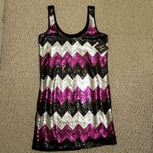 NWT Jack Sequin Front Dress Size Small